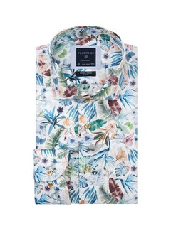 Profuomo Overhemd Print Multicolor (PPSH1A1001)