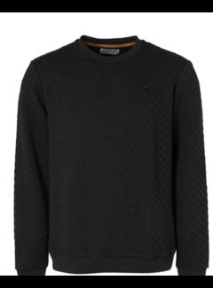 No Excess Sweater Structuur Zwart (12130701 - 020)
