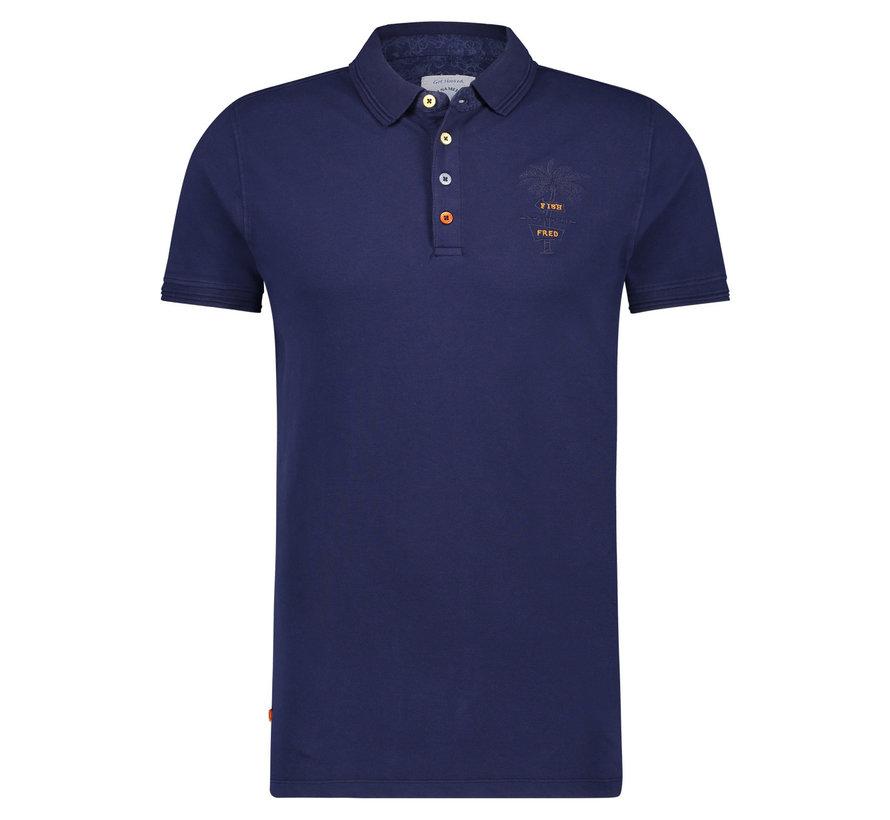 Polo Garment Dye Navy (22.03.306)
