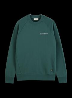 Scotch & Soda Sweater Jungle Groen (163945 - 0555)
