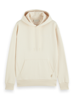 Scotch & Soda Hooded Sweater Relaxed Fit Felpa Off White (163941 - 0001)