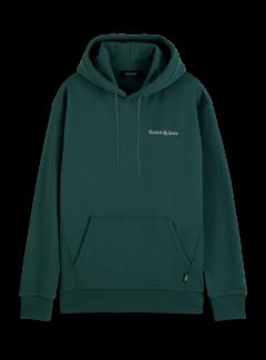 Scotch & Soda Hooded Sweater Relaxed Fit Felpa Jungle (163941 - 0555)