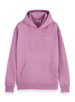 Scotch & Soda Hooded Sweater Relaxed Fit Felpa Mauve (163941 - 1139)