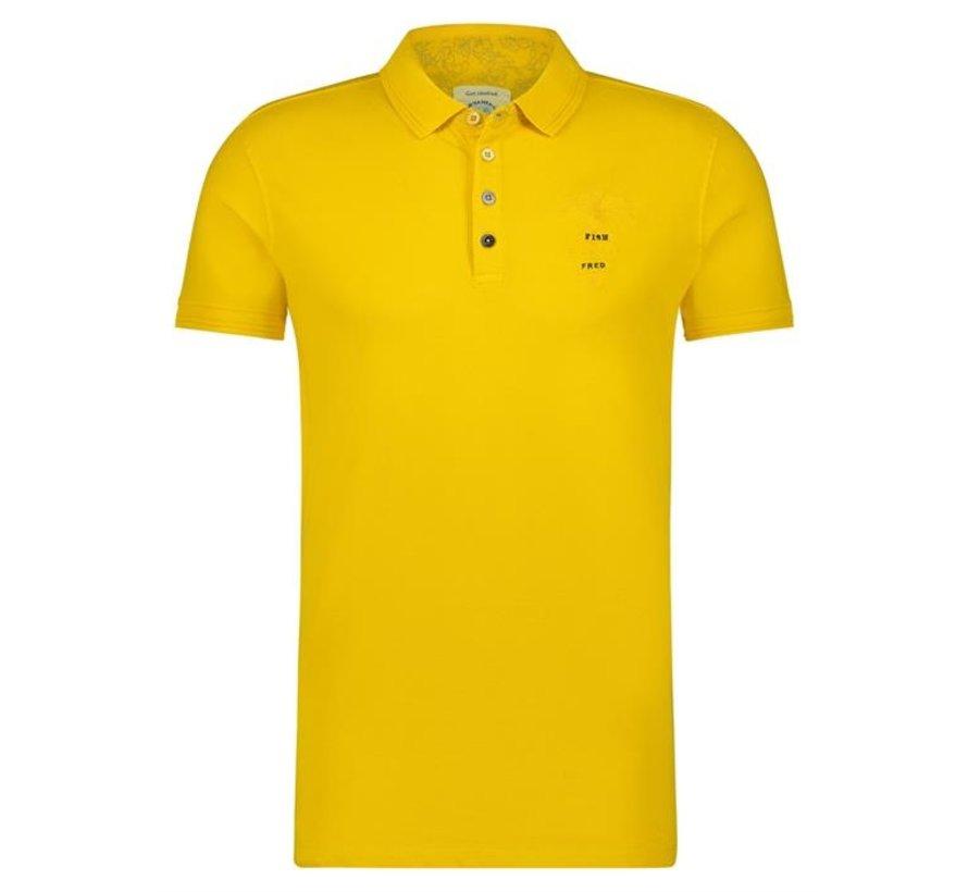 Polo garment dye Yellow (22.03.311)