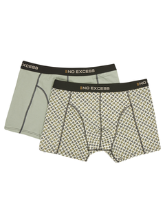 No Excess Boxershorts 2 pack Multicolor (12940802 - 999)