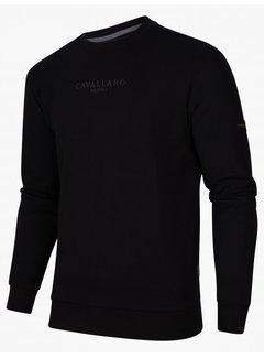 Cavallaro Napoli Sweater Vallone Black (120215000 - 999000)N