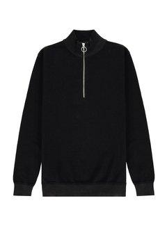 Kultivate Half-Zip Trui Black (2101010801 - 100-Black)