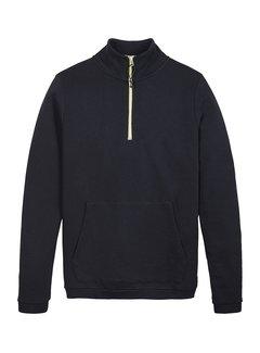 Kultivate Half-Zip Sweater Patrol Dark Navy (2101011002 - 319-DarkNavy)
