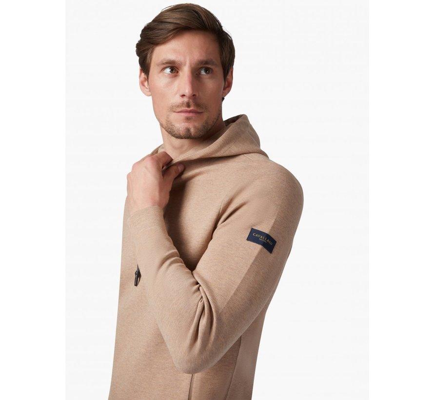 Hooded Sweater Tognazzi Beige Melange (120215007 - 826000)N