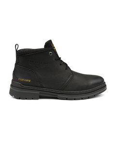 PME Legend Schoenen Fleetman Pull Up Leather Black (PBO216037 - 999)