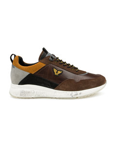 PME Legend Sneakers Notcher Leather Dark Brown (PBO216014 - 771)