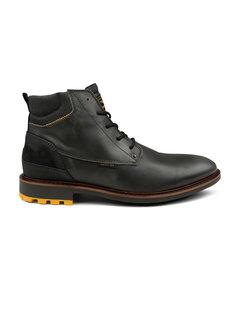 PME Legend Schoenen Huffster Leather Black (PBO216025 - 999)