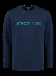 District Indigo Sweater Navy Blauw (7.12.300.305 - 010)