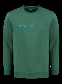 District Indigo Sweater Groen (7.12.300.305 - 074)