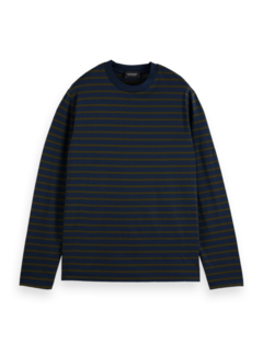 Scotch & Soda Longsleeve T-shirt Streep (164875 - 0218)