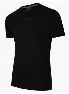 Cavallaro Napoli T-shirt Athletic Black (117216000 - 999000)N