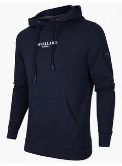 Cavallaro Napoli Hooded Sweater Athletic Dark Blue (120216001 - 699000)N
