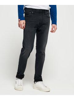 Superdry Jeans Tyler Slim Fit Portland Washed Zwart (M70011NS - VF7)