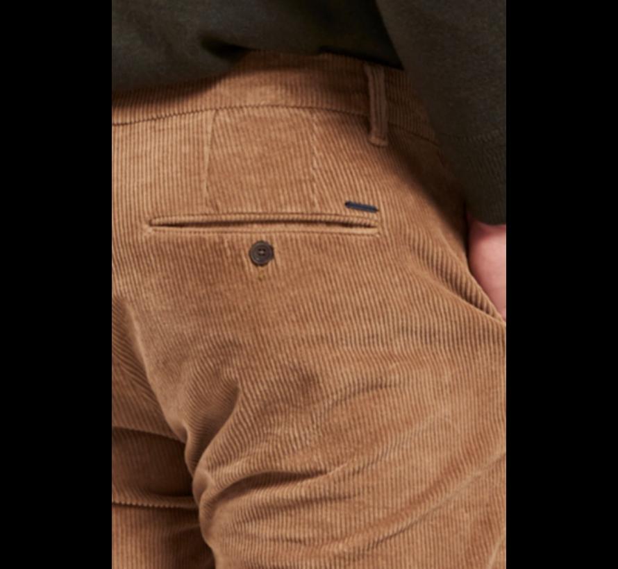Chino Fonda Slim Fit Ribcord Khaki Beige (501522 - 250)