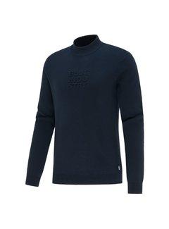 Blue Industry Sweater Met Logo Navy Blauw (KBIW21 - M6 - NAVY)