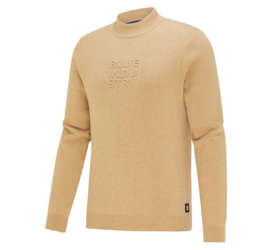Sweater Met Logo Camel Bruin (KBIW21 - M6 - CAMEL)