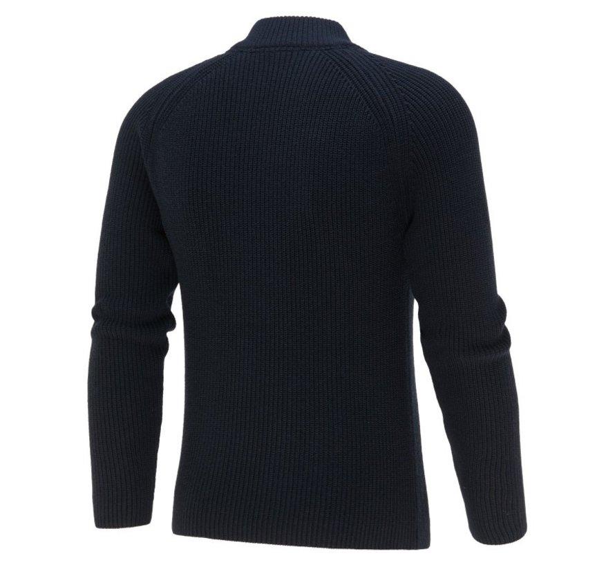 Pullover Half-Zip Navy Blauw (KBIW21 - M9 - NAVY)