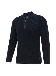 Blue Industry Pullover Half-Zip Navy Blauw (KBIW21 - M9 - NAVY)