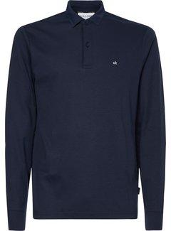 Calvin Klein Longsleeve Polo Slim Fit Liquid Touch Navy (K10K107091 - DW4)