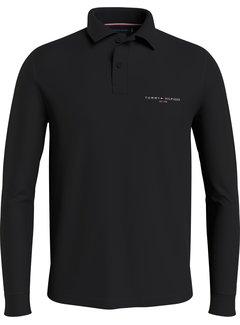 Tommy Hilfiger Polo Jersey Slim Fit Zwart (MW0MW20181 - BDS)