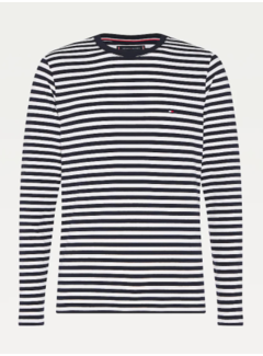 Tommy Hilfiger T-shirt Ronde Hals Desert Sky/Wit (MW0MW10804 - 0A4)