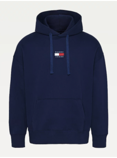 Tommy Hilfiger Hooded Sweater Twilight Navy Blauw (DM0DM10904 - C87)