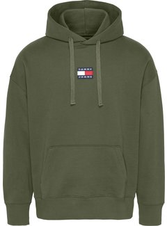 Tommy Hilfiger Hooded Sweater Dark Olive Groen (DM0DM10904 - MRZ)