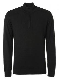 No Excess Pullover Half-Zip Zwart (12230831SN - 020)