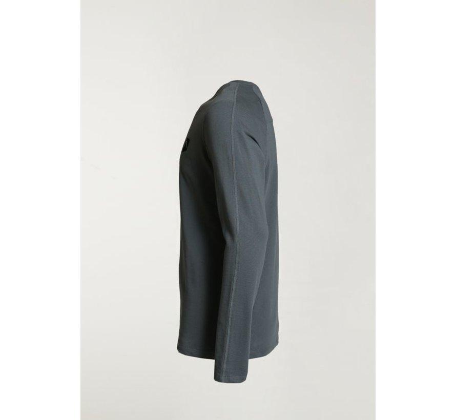 T-shirt Lange Mouw RYLAN Blauw (5.111.219.056 - E62)