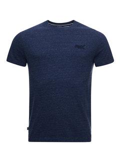 Superdry T-shirt Logo Navy Blauw (M1011245A - 97T)