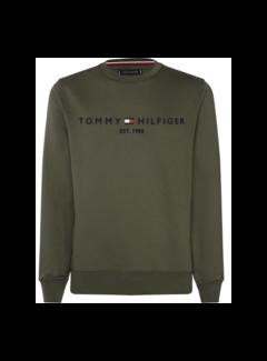 Tommy Hilfiger Sweater Logo Groen (MW0MW11596 - LFH)