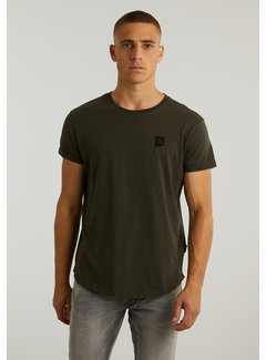CHASIN' T-shirt Ronde Hals BRODY Donker Groen (5.211.213.148 - E53)