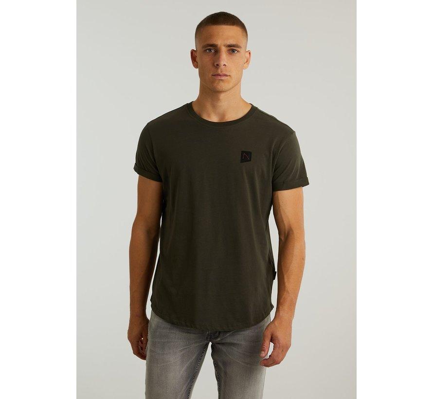 T-shirt Ronde Hals BRODY Donker Groen (5.211.213.148 - E53)