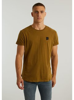 CHASIN' T-shirt Ronde Hals BRODY Goud (5.211.213.148 - E38)