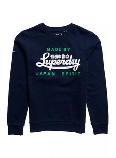 Superdry Sweater Nautical Navy (M2011464A - 09S)