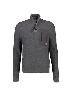 Lerros Half-Zip Trui Slate Grey (2185421 - 282)