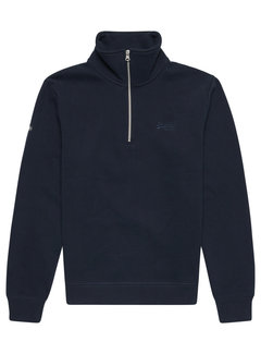 Superdry Half-Zip Sweater Henley Eclipse Navy (M2011890A - 98T)
