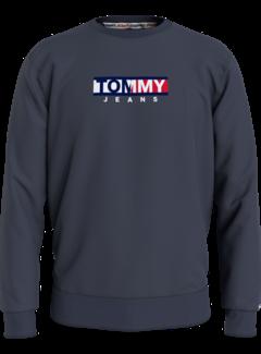 Tommy Hilfiger Sweater Twilight Navy Blauw (DM0DM11627 - C87)