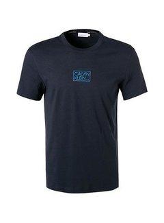 Calvin Klein T-Shirt Chest Box Logo Navy (K10K107714 - DW4)