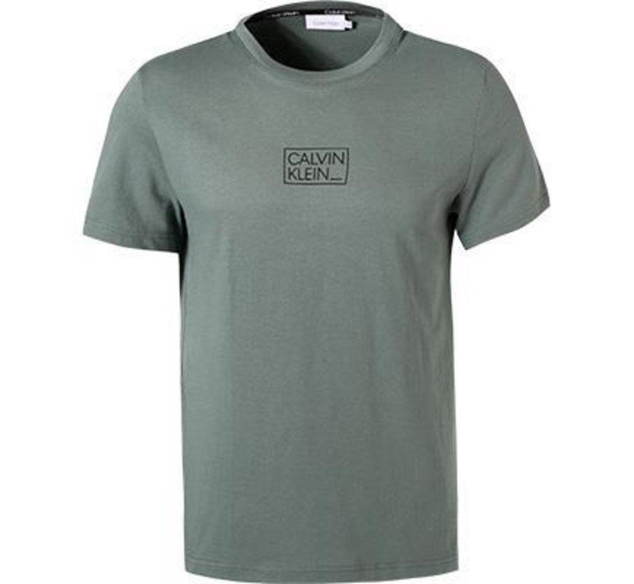 T-Shirt Chest Box Logo Balsam Green(K10K107714 - LA7)