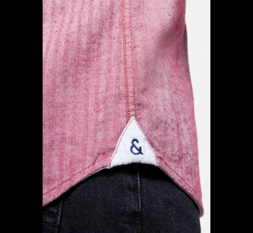 Overhemd Cashmere Merlot (9221 - 240 - 241)