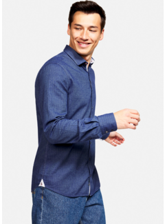 Colours & Sons Overhemd Cashmere Navy (9221 - 240 - 243)