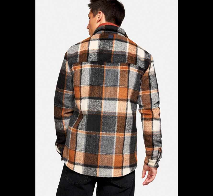 Jack Flannel Cinamon Check (9221 - 603 - 185)