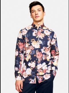 Colours & Sons Overhemd Flower Print Multicolor (9221 - 260 - 266)