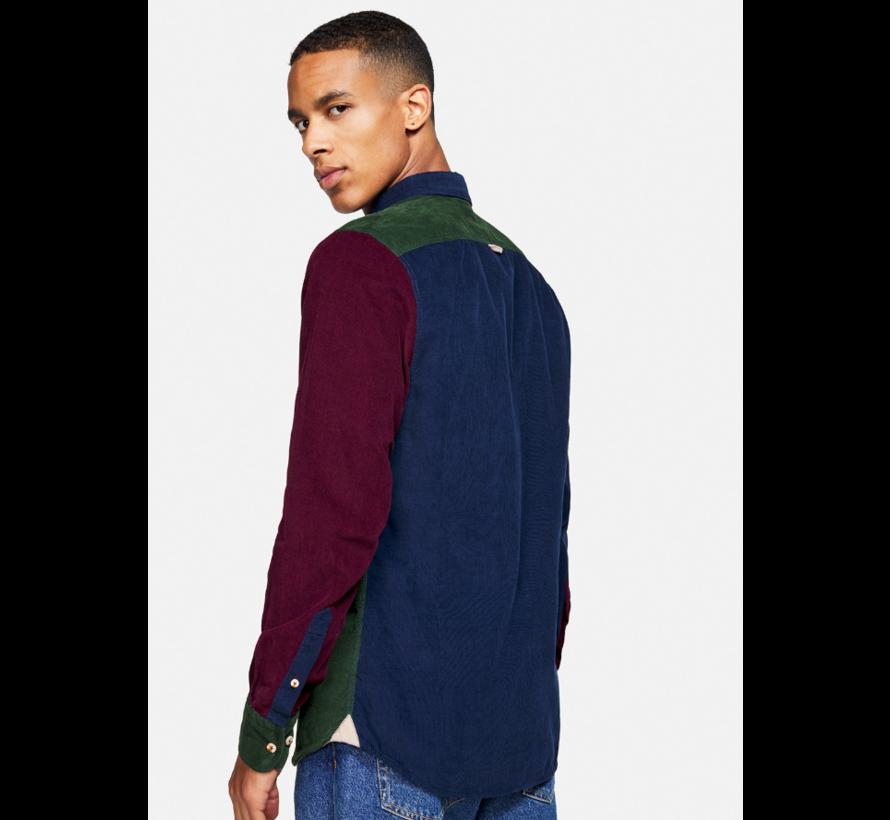 Overhemd Cord Blocks Multicolor (9221 - 235 - 237)